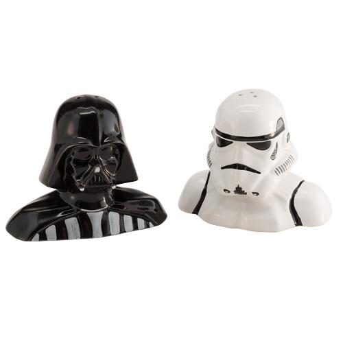 vader stormtrooper salt and pepper shakers