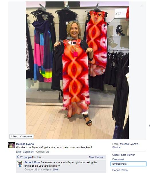 Vagina Dress Facebook post goes viral