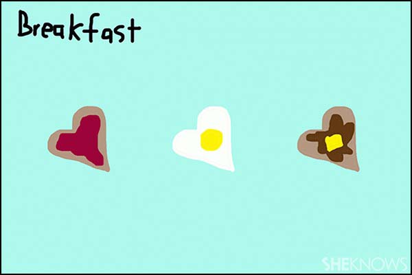 Valentine's Day breakfast for kids - SheKnows.com