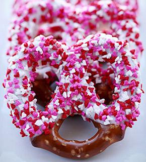 valentines day pretzels