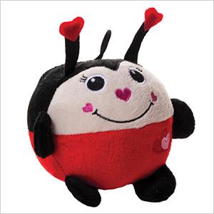 ladybug dog toy