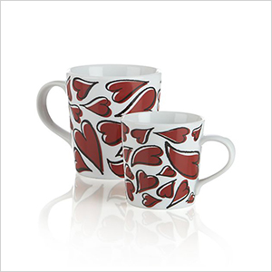 Heart mugs | Sheknows.ca