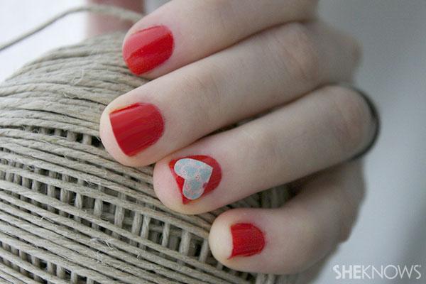 Valentine's Polish finished