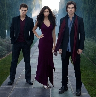 The cast of Vampire Diaries