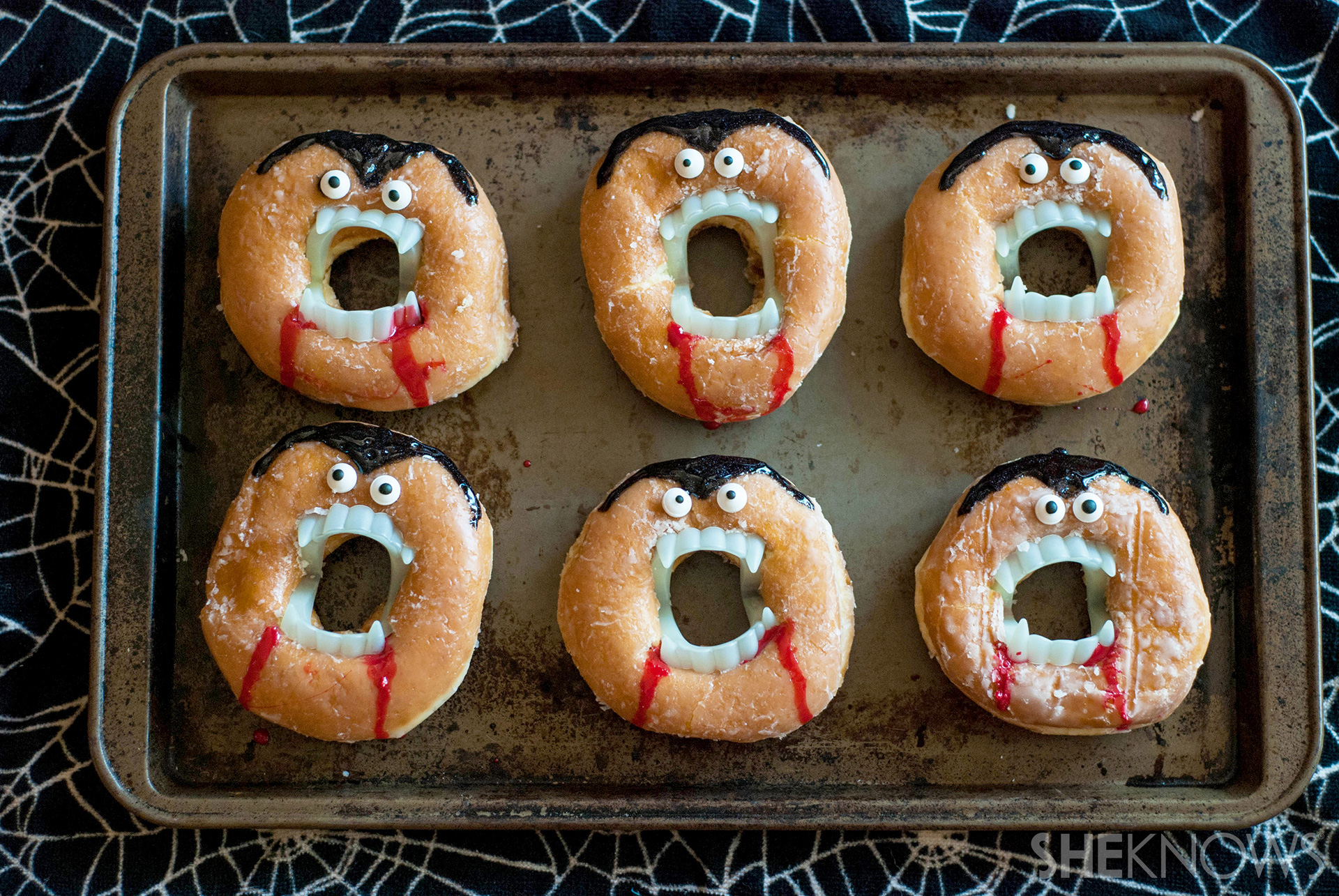 It S Time For Hilarious No Bake Vampire Doughnuts To Rise Yet Again