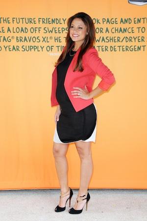 Vanessa Minnillo talks pregnancy and Earth Day.