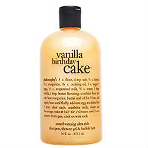 Vanilla birthday cake shampoo, gel, and bubble bath   Sheknows.ca