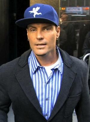 Vanilla Ice leaves ABC Studios in New York.