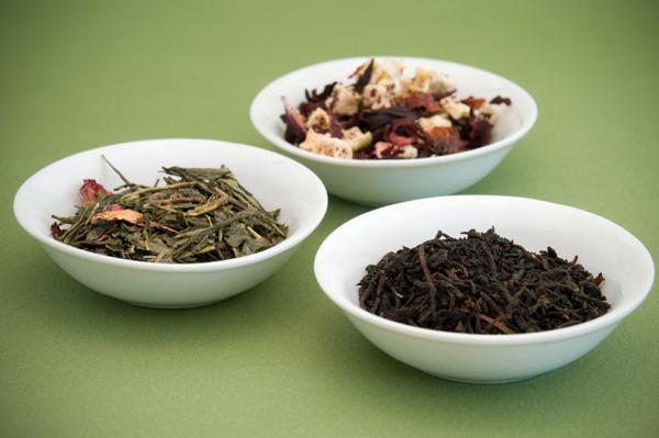 Variety of Tea Leaves