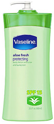 Vaseline® Total Moisture ® Aloe Fresh Lotion with SPF 15