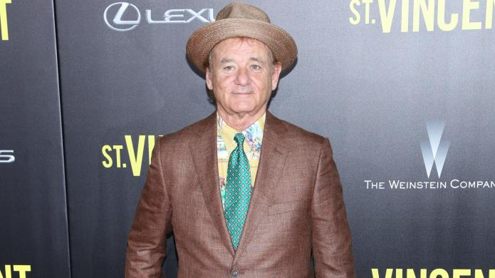 Studly Bill Murray proves why he