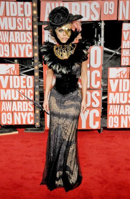 Lady Gaga 2009 MTV Video Music Awards