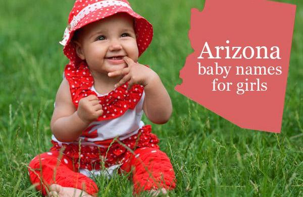 Arizona: Top 100 baby names for