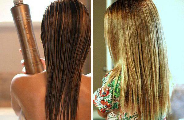 DIY Brazilian blowout: Sleek, straight hair