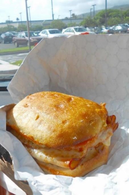 Costco Food Court: Hot Turkey and Provolone Sandwich