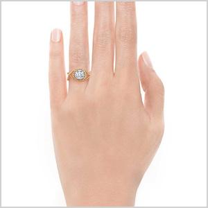 Fancy tiffany engagment ring