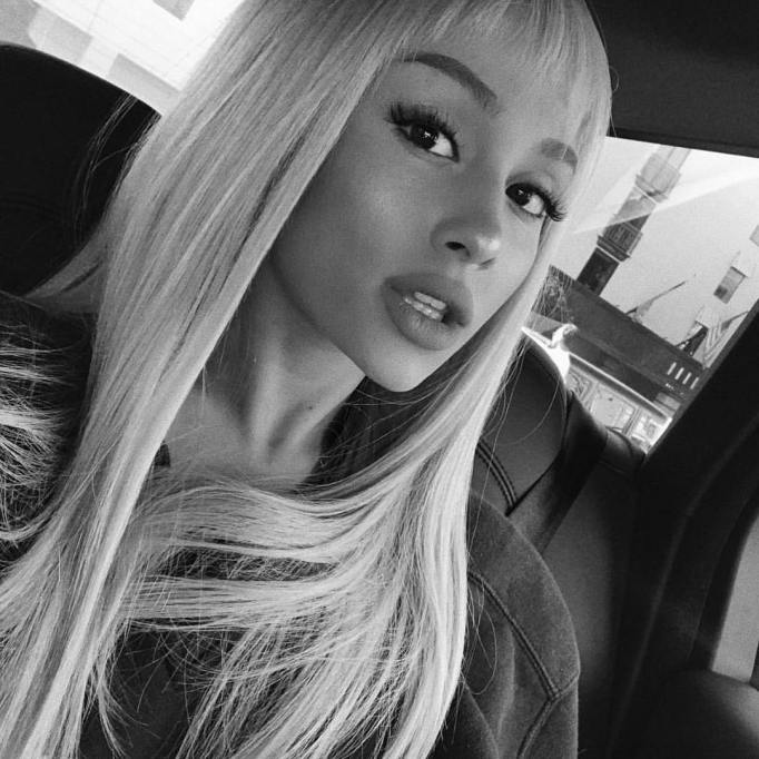 Celebrities Who Nailed Baby Bangs   Ariana Grande