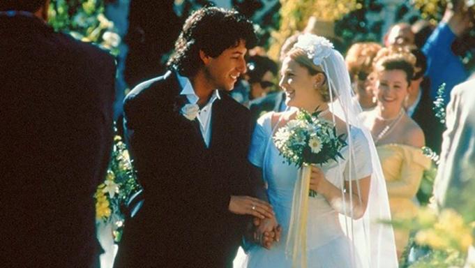 Wedding scene from 'The Wedding Singer'