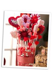 Diy Valentine S Day Candy Centerpiece Sheknows