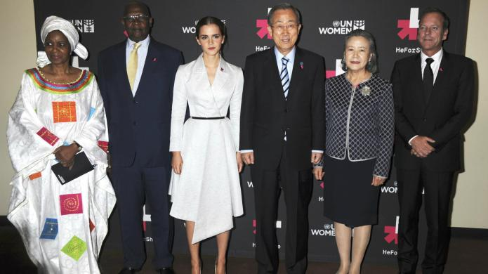 Emma Watson launches the HeForShe campaign