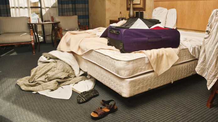 Hotel rooms are even more revolting