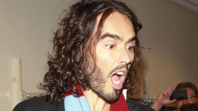 Russell Brand's The Trews: Intimidating, must-watch
