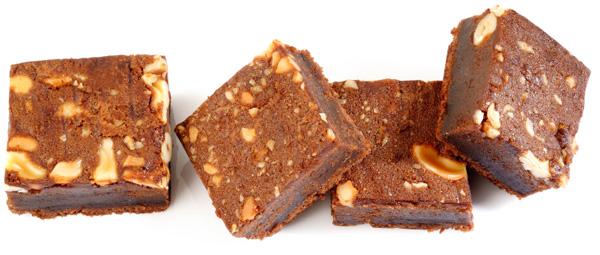 Vegan cashew brownies