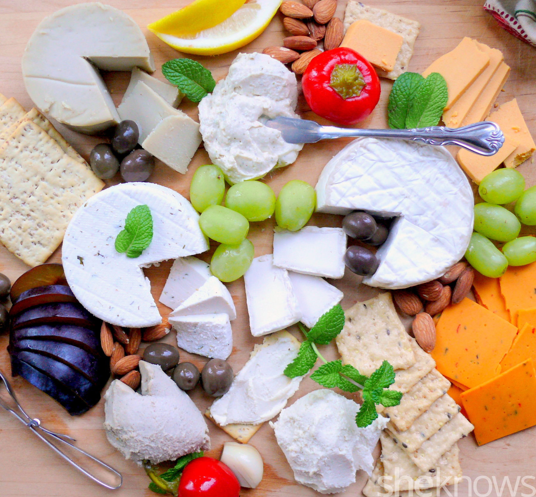 vegan cheese plate taste rest review