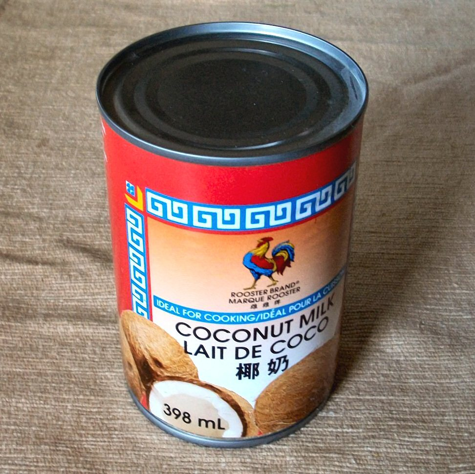 canned full fat coconut milk