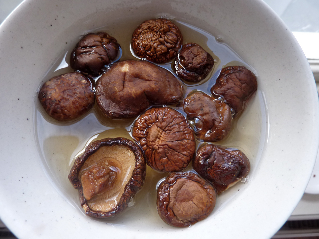 vegan dried shiitake mushrooms
