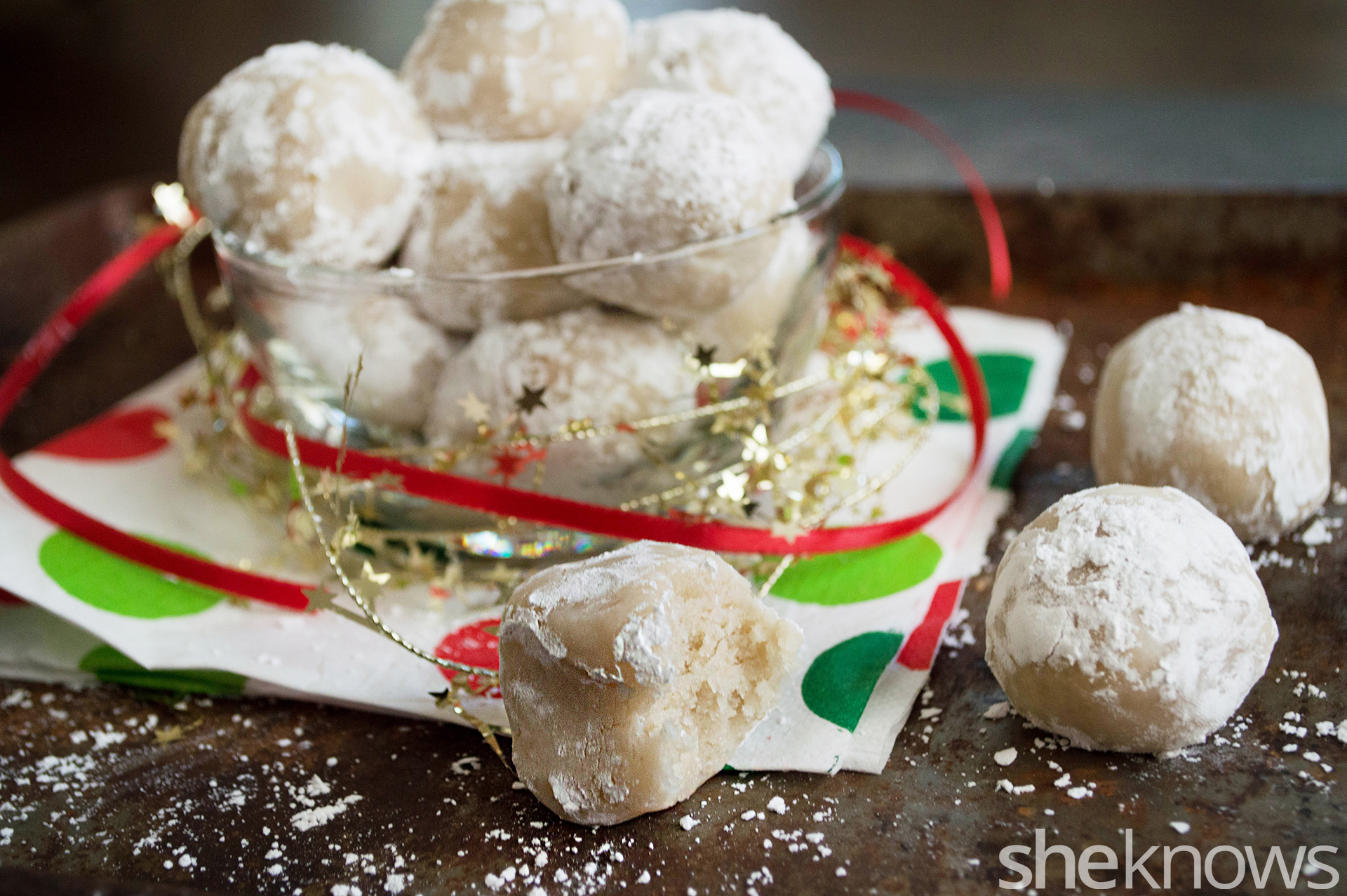 vegan snowballs