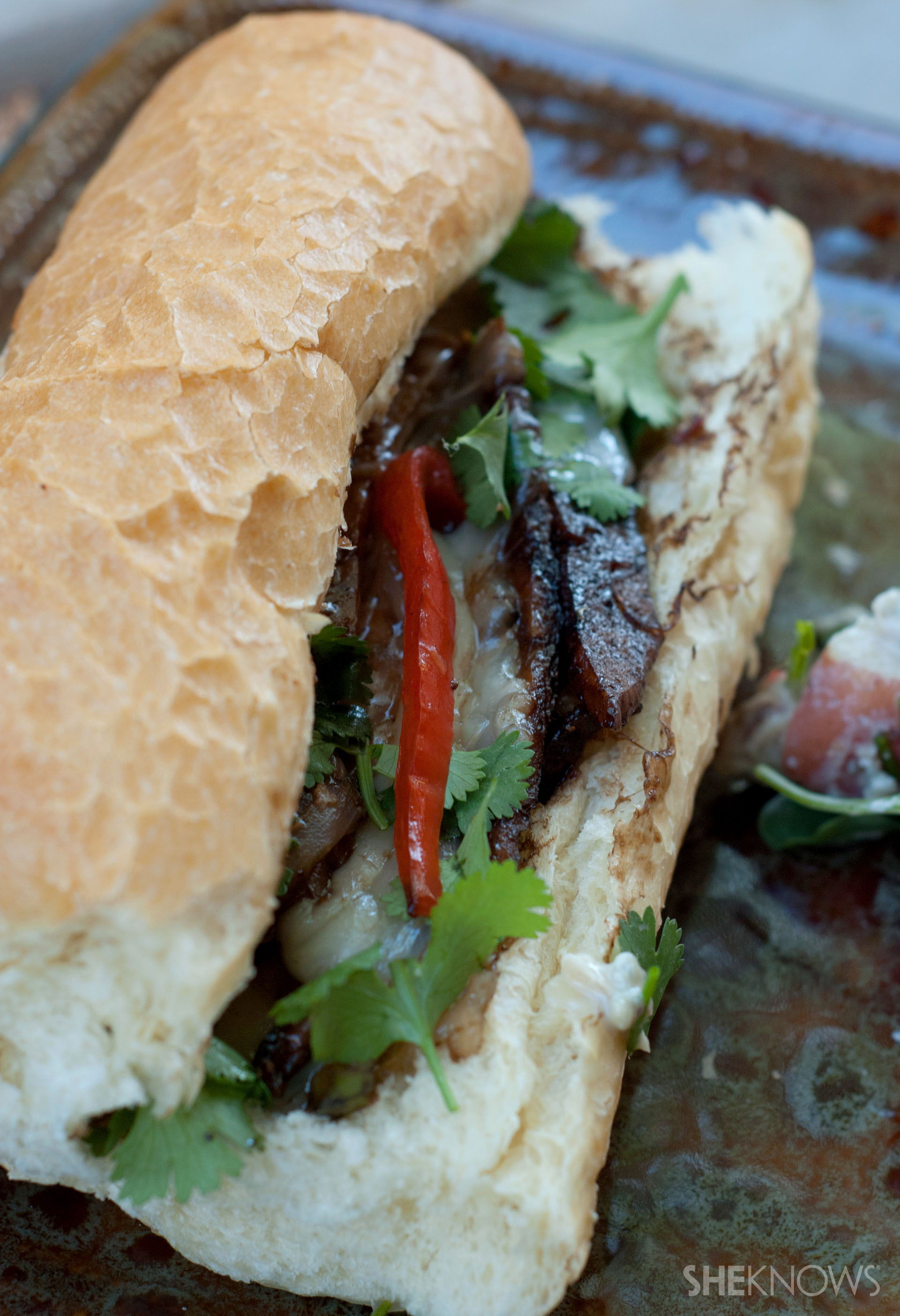 Meatless Philly cheese steak recipe