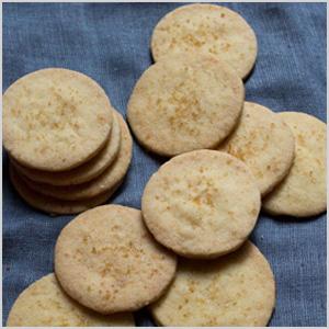 Tea-infused shortbread cookies