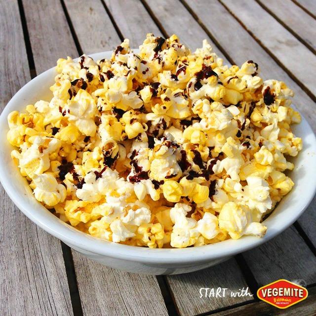 Vegemite popcorn