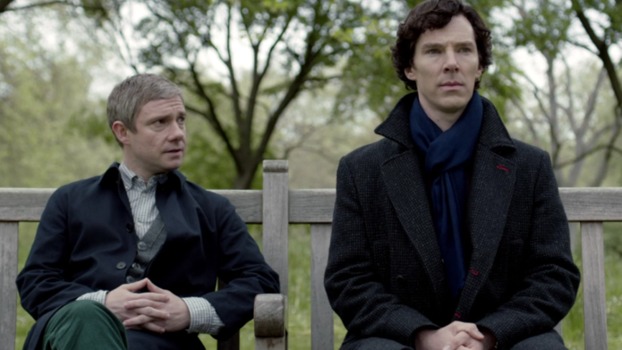 The way Sherlock creators told fans