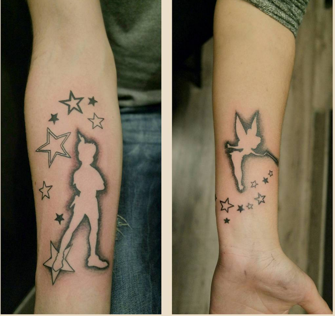 c38226b87 We are in love with these Disney-themed couple tattoos – SheKnows