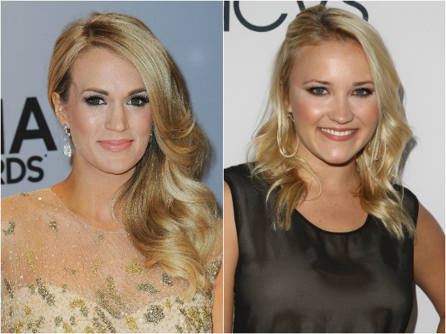 Carrie Underwood and Emily Osment