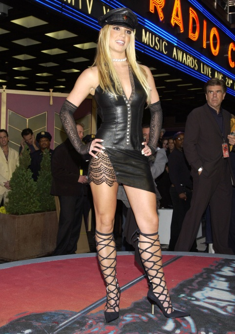Britney Spears at the 2002 MTV Video Music Awards.