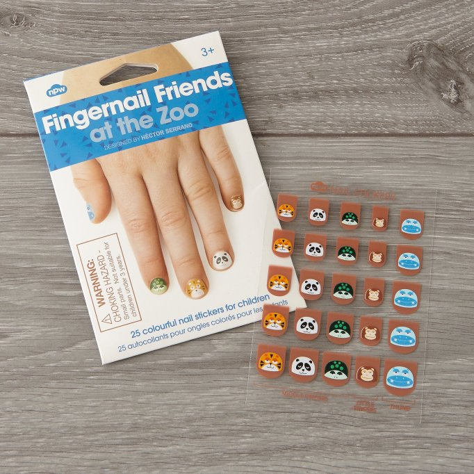 Cute Affordable Stocking Stuffers For Kids: Fingernail Friends | Holiday Gift Guide 2017