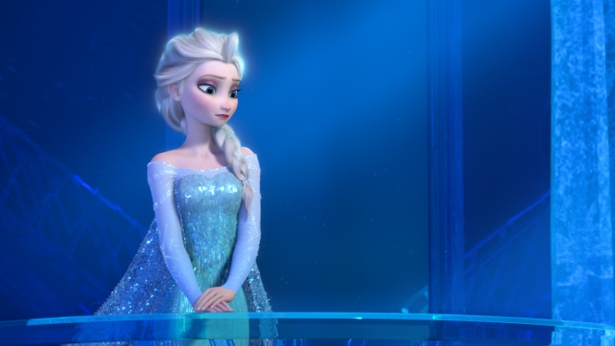 """FROZEN"" (Pictured) ELSA. ?2013 Disney. All"