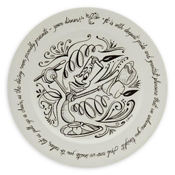 Disney dinner plate