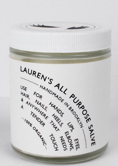 Fall Beauty Finds: Lauren's All Purpose Salve 6 oz. Glass Jar   Fall Beauty Roundup 2017