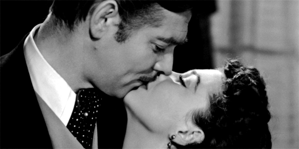 movie kisses Gone with the Wind