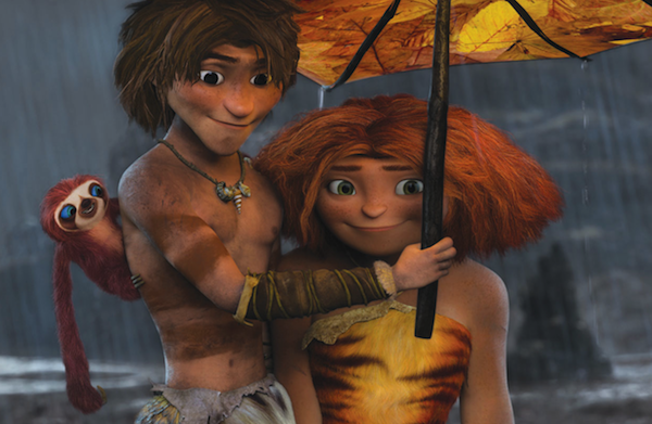 The Croods goes caveman at the