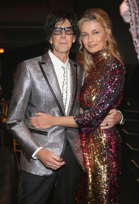 Ric Ocasek & Paulina Porizkova attend 33rd Annual Rock & Roll Hall of Fame Induction Ceremony