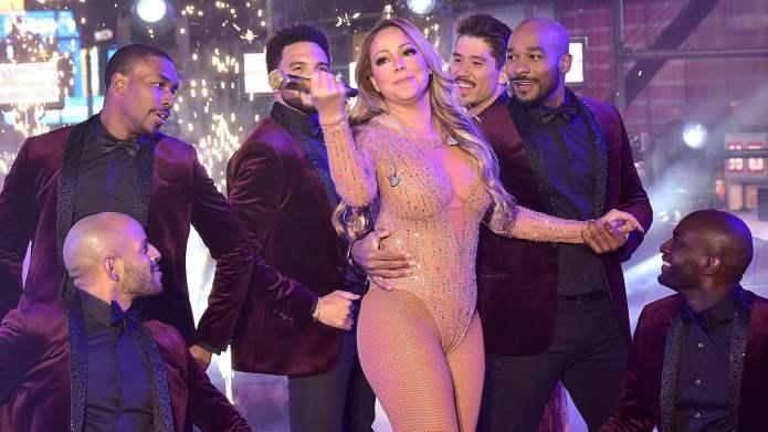 No, Mariah Carey's ex-husband, she does