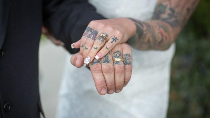 20 tattooed brides who prove wedding