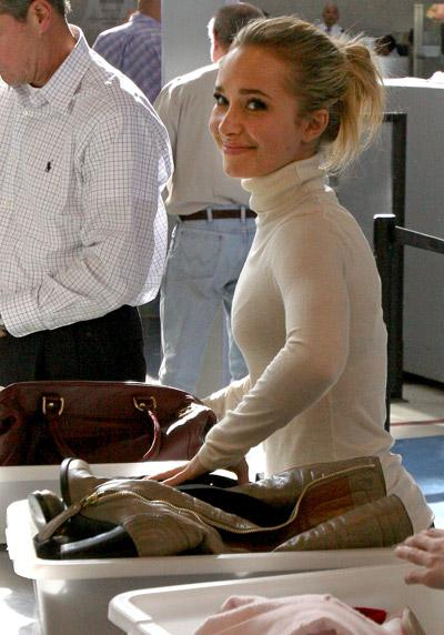 Celebrities At The Airport What The Stars Bring Into The