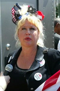 Victoria Jackson goes to Occupy Wall Street protests