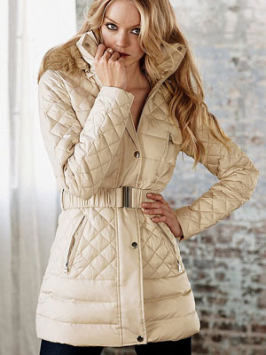 Victoria's secret quilted puffer | Sheknows.ca